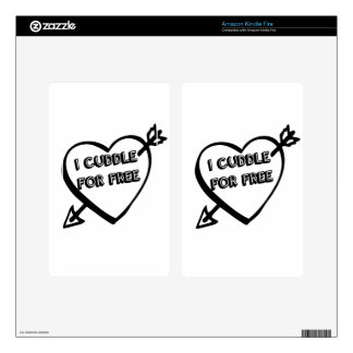 Valentine's Day  - I Cuddle for Free Kindle Fire Skins