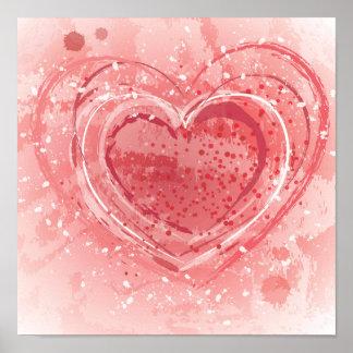 Valentine's Day Illustration Poster