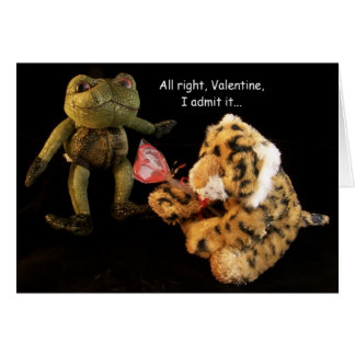 Valentine's Day, I've got a crush... Card