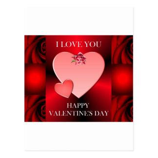 Valentine's Day Keepsakes Postcard