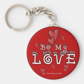 Valentine's Day Keychain (1b)