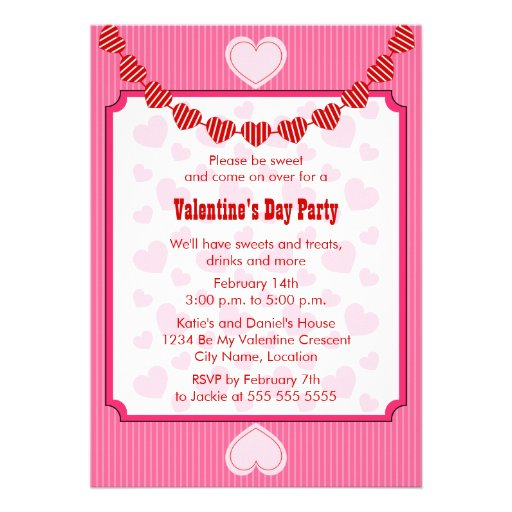 Valentine Party Invitations can inspire you to create best invitation template
