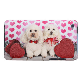 Valentine's Day - Kirby & Shelby - Poodles iPod Case-Mate Cases
