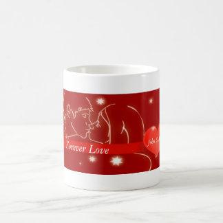 Valentine's Day Kiss Coffee Mug