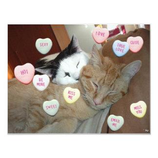 Valentine's Day Kittens Card