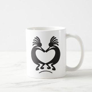 Valentine's day Kokopelli Classic White Coffee Mug