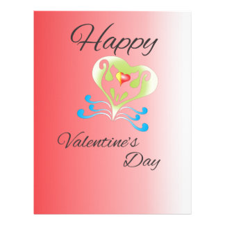 valentine's day letterhead