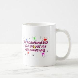 Valentines Day lousy mug. St. Valentine Classic White Coffee Mug