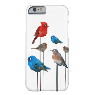 Valentine's Day Love Birds Mosaic Barely There iPhone 6 Case