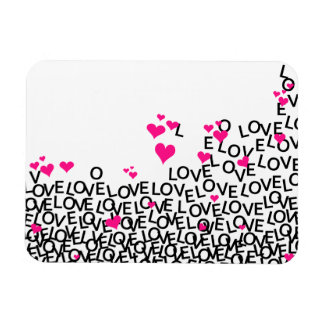 Valentine's Day Love Flexible Magnet