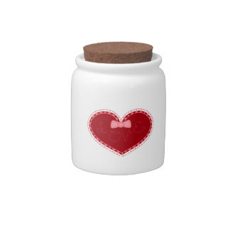 Valentine's Day Love Heart Candy Dishes
