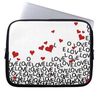 Valentine's Day Love Laptop Sleeve