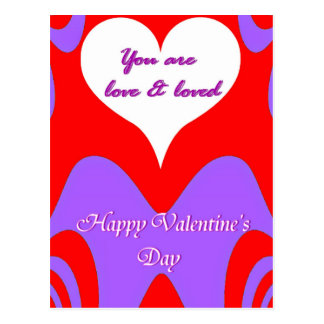 Valentine's Day Love_ Postcard