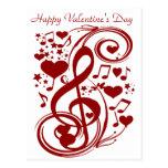 Valentine's Day Love_Postcard Postcard