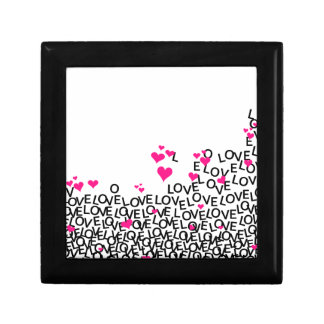 Valentine's Day Love Square Tile Gift Box