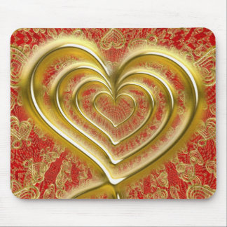 Valentine's Day, Lovely Romance Mouse Pad