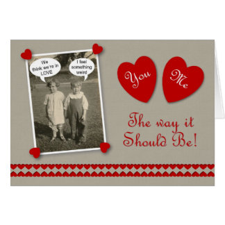 Valentine's Day  Lovers Card
