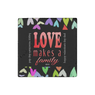 Valentine's Day Magnet for Dad