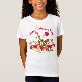 Valentine's Day - Mickey and Friends T-Shirt
