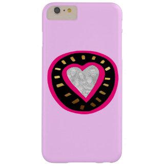 Valentine's Day - Modern Pink Heart 3 Iphone case