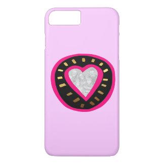 Valentine's Day Modern Pink Heart iPhone case
