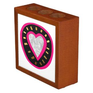Valentine's Day Modern template Desk Organizer