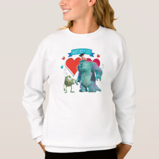 Valentine's Day - Monsters Inc. Sweatshirt