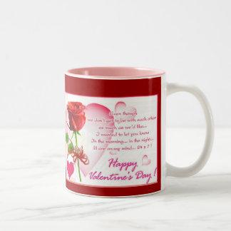 Valentines Day  Mug by Mojisola A Gbadamosi Okubul