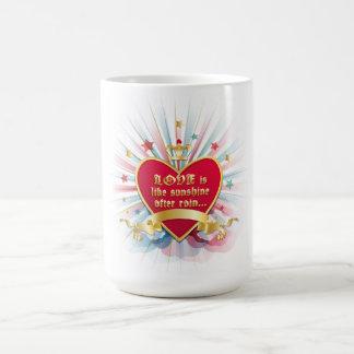 Valentines Day mug design
