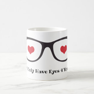 Valentines Day Mug - Eyes for you