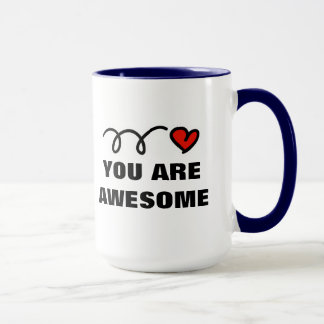 Valentine's Day Mug with personal quote template