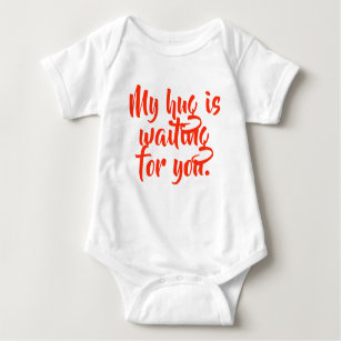 Waiting For You Baby Clothes Shoes Zazzle