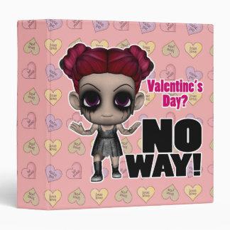 valentines day no way punk girl binder