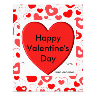 Valentine's Day Note Flyer