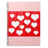 Valentine's Day notebook