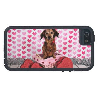 Valentine's Day - Oakley - Dachshund Case For iPhone SE/5/5s