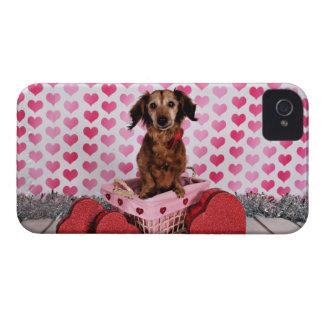 Valentine's Day - Oakley - Dachshund Case-Mate iPhone 4 Case