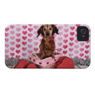 Valentine's Day - Oakley - Dachshund iPhone 4 Case-Mate Case