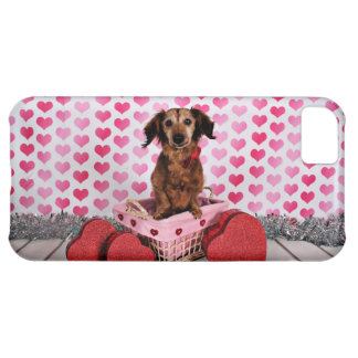 Valentine's Day - Oakley - Dachshund iPhone 5C Covers