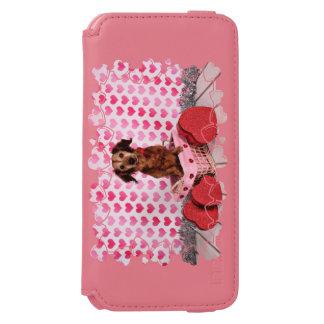 Valentine's Day - Oakley - Dachshund iPhone 6/6s Wallet Case