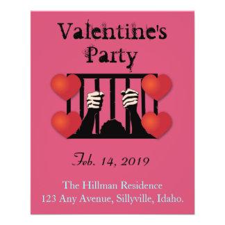 Valentine's Day Party Prisoner Flyer