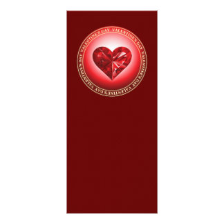 Valentine's Day Personalized Rack Card