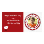 Valentines Day Photo Card