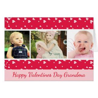 Valentines Day Photo Card for Grandma