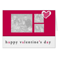 Valentines Day Photo Greeting Card
