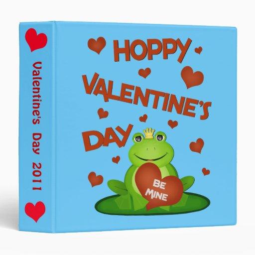 Valentine's Day Photo / Scrapbook Binder