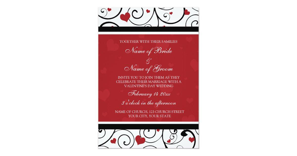 Valentines day photo wedding invitation cards zazzle stopboris Choice Image