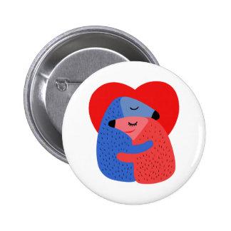 Valentine's Day Pinback Button