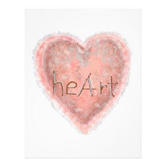 Valentine's Day Pink Heart Flyer
