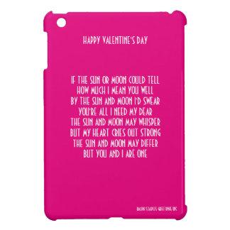 VALENTINE'S DAY POEM iPad MINI CASES